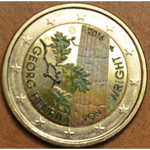 2 Euro Finland 2016 - George Henrik von Wright III. (colored UNC)