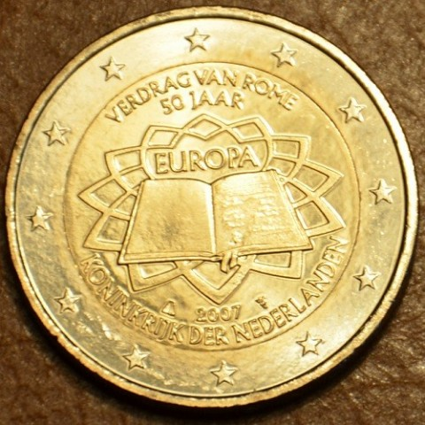 2 Euro Netherlands 2007 - 50th anniversary of the Treaty of Rome (UNC)