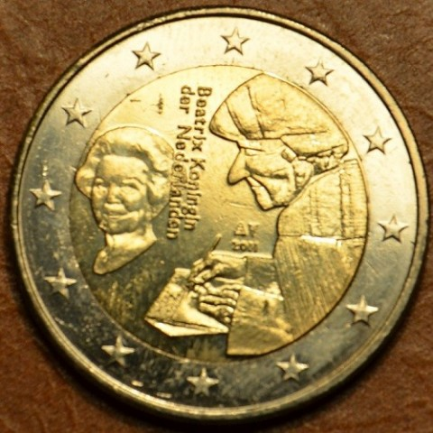 2 Euro Netherlands 2011 - The 500th anniversary of the world-famous book Laus Stultitiae by Erasmus  (UNC)
