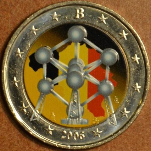 2 Euro Belgium 2006 - Atomium (colored UNC)