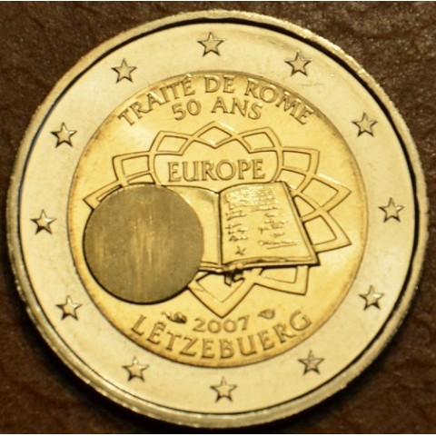 2 Euro Luxembourg 2007 - 50th anniversary of the Treaty of Rome (UNC)
