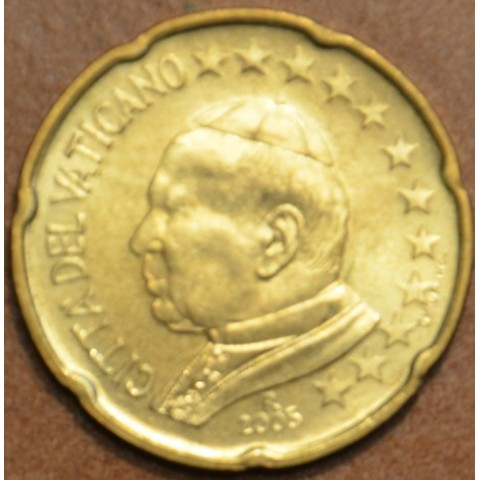20 cent Vatican His Holiness Pope John Paul II 2005 (BU)