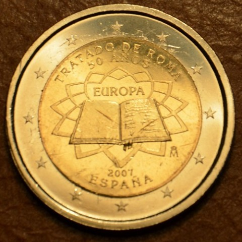 2 Euro Spain 2007 - 50th anniversary of the Treaty of Rome (UNC)