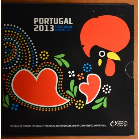 Set of 8 coins Portugal 2013 (BU)