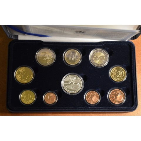 Set of 10 eurocoins Finland 2006 (Proof)