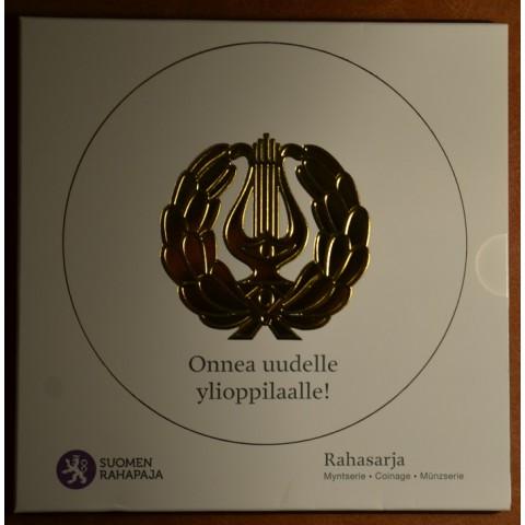 Set of 8 eurocoins Finland 2011 (BU)
