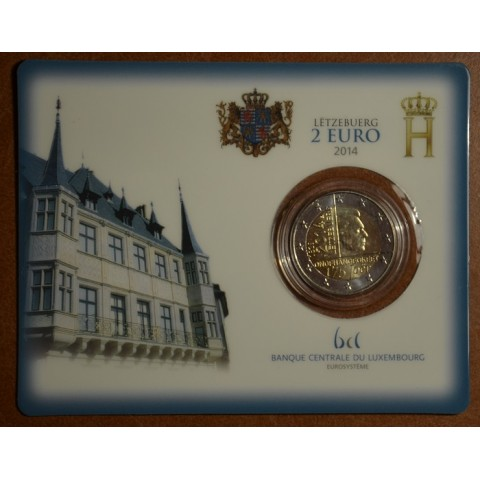 2 Euro Luxembourg 2014 - 175 years of independence (BU)