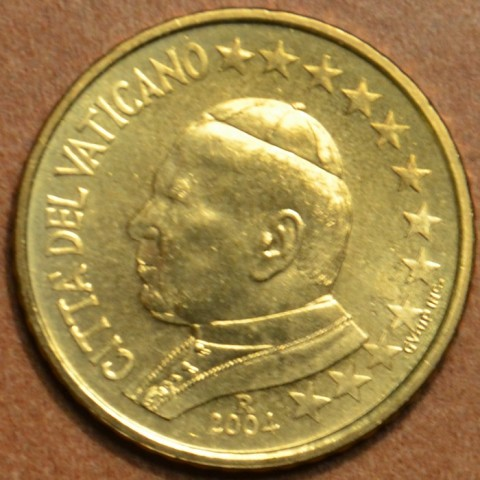 10 cent Vatican His Holiness Pope John Paul II 2004 (BU)