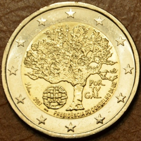 2 Euro Portugal 2007 - Portuguese Presidency of the Council of the European Union (UNC)