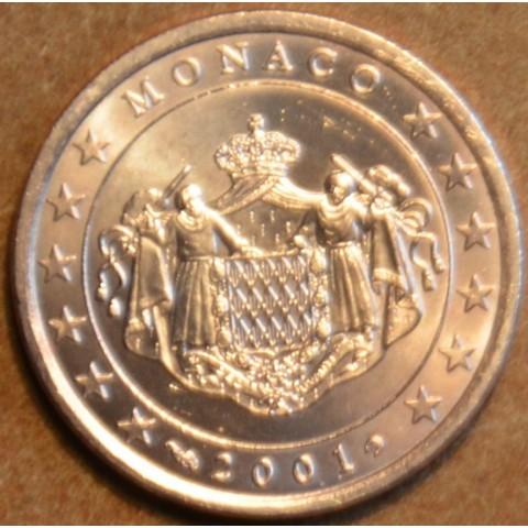 2 cent Monaco 2001 (UNC)