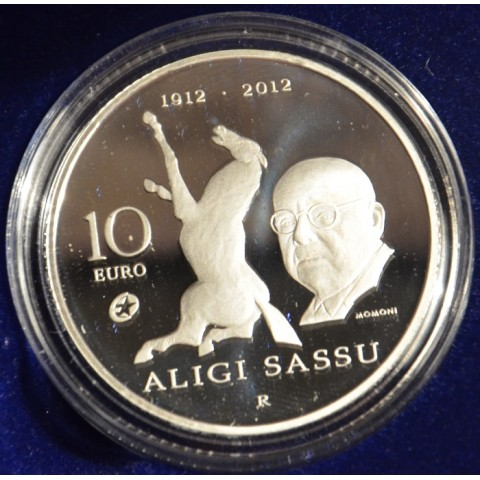 10 Euro San Marino 2012 - Aligi Sassu (Proof)