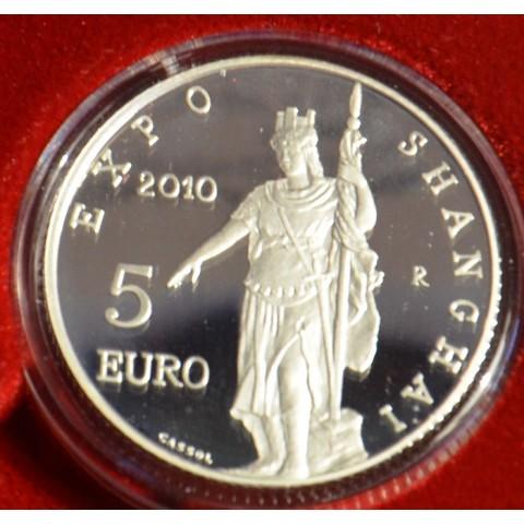 5 Euro San Marino 2010 - EXPO Shanghai (Proof)