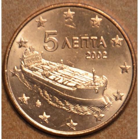 "5 cent Greece ""F"" 2002 (UNC)"