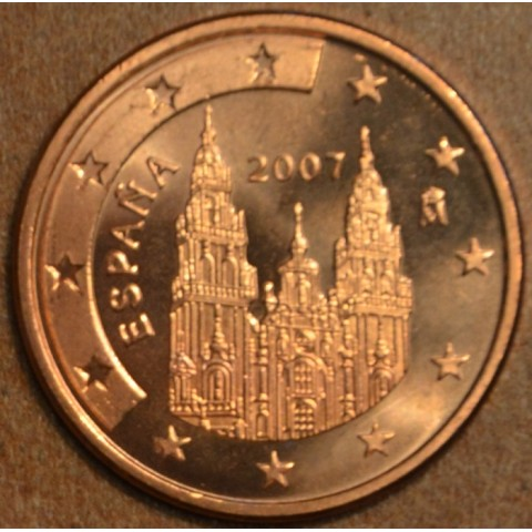 2 cent Spain 2007 (UNC)