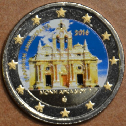 2 Euro Greece 2016 - Monastery Arkadi II. (colored UNC)