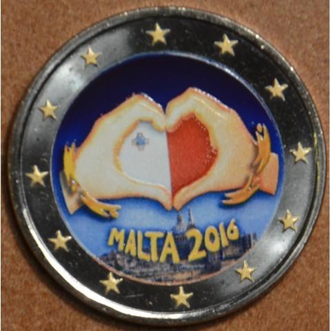 2 Euro Malta 2016 - Love II. (colored UNC)