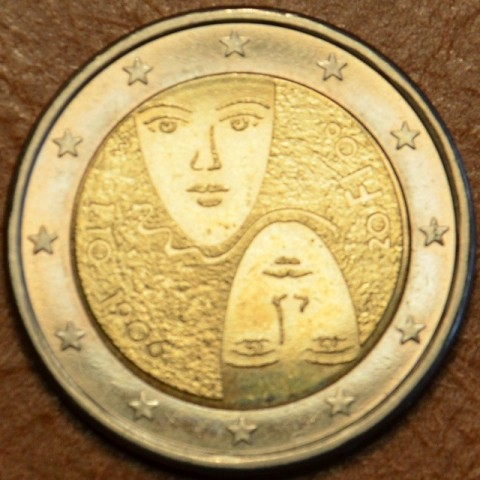 2 Euro Finland 2006 - 1st Centenary of the Introduction of Universal and Equal Suffrage (UNC)