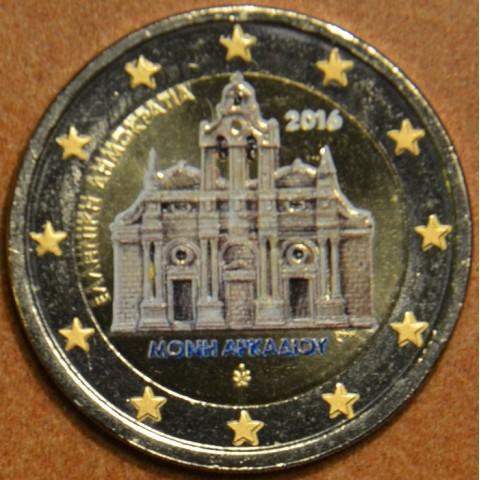 2 Euro Greece 2016 - Monastery Arkadi (colored UNC)