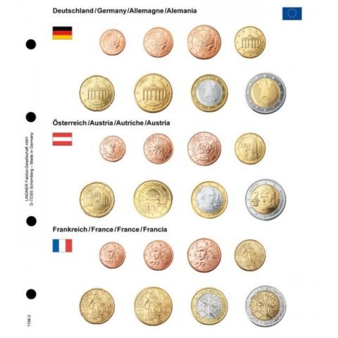 Germany, Austria, France page into Lindner album