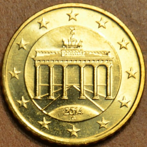 """10 cent Germany """"G"""" 2014 (UNC)"""