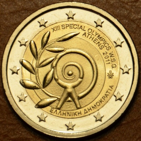2 Euro Greece 2011 - The Special Olympics World Summer Games — Athens  (UNC)