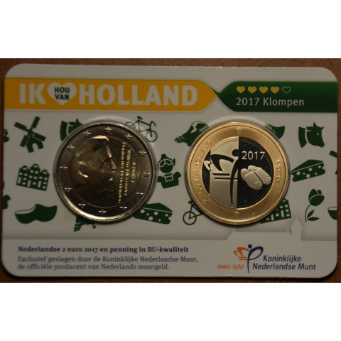 2 Euro Netherlands 2017 - Holland coin fair (BU)