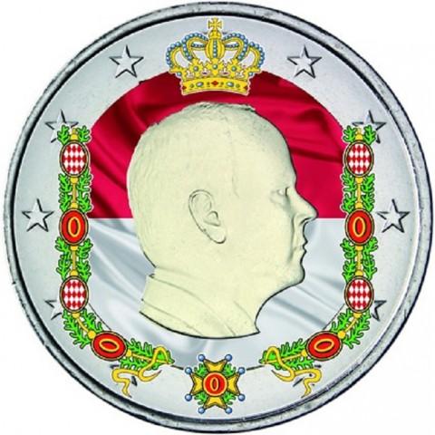 2 Euro Monaco 2014 (colored UNC)