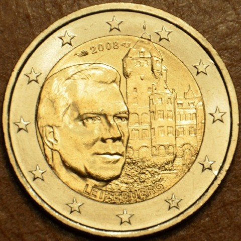 2 Euro Luxembourg 2008 - Grand-Duke Henri and the 'Château de Berg' (UNC)