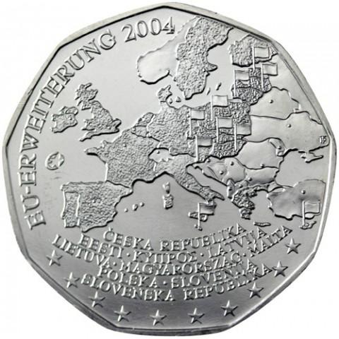 5 Euro Austria 2004 EU Enlargement (UNC)