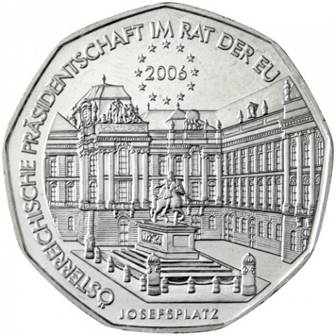 5 Euro Austria 2006 - EU presidency (UNC)