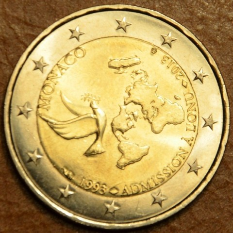 2 Euro Monaco 2013 - 20th Anniversary of UN Membership (UNC)