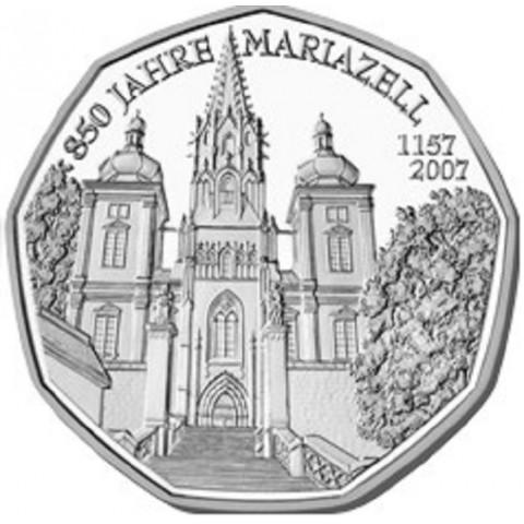 5 Euro Austria 2007 - Mariazell (UNC)