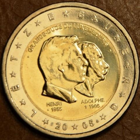 2 Euro Luxembourg 2005 - 50th birthday of Grand Duke Henri... (UNC)