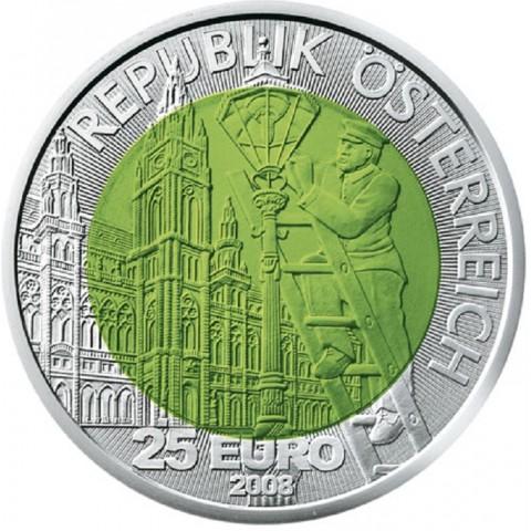 25 Euro Austria 2008 - Fascination light (Niob)