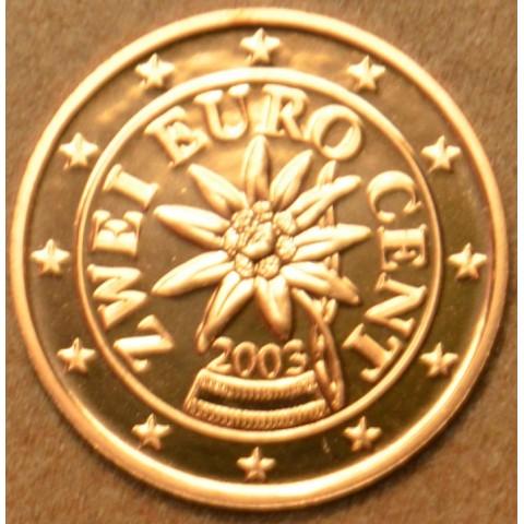 2 cent Austria 2003 (UNC)