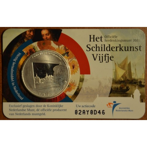 5 Euro Netherlands 2011 - Dutch painting (BU card)