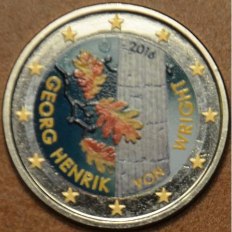 2 Euro Finland 2016 - George Henrik von Wright IV. (colored UNC)