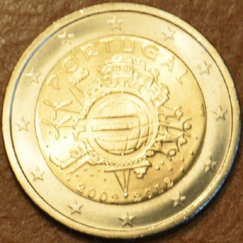2 Euro Portugal 2012 - Ten years of Euro  (UNC)