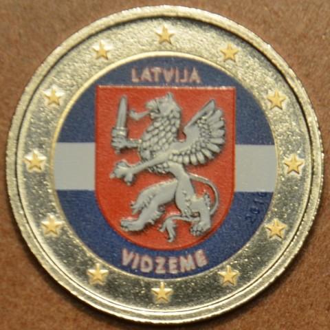 2 Euro Latvia 2016 - Vidzeme III. (colored UNC)