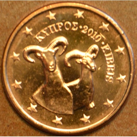 2 cent Cyprus 2010 (UNC)