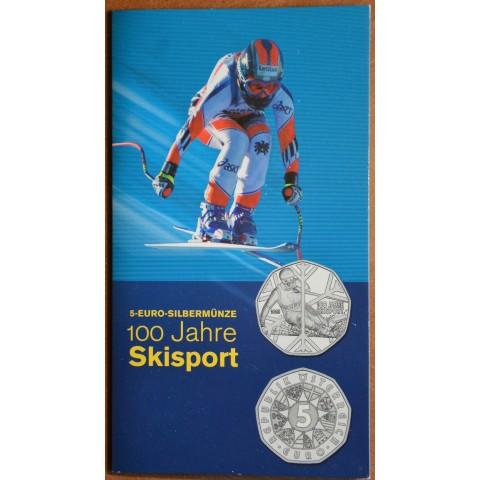 5 Euro Austria 2005 - 100 Years of Skiing (BU)