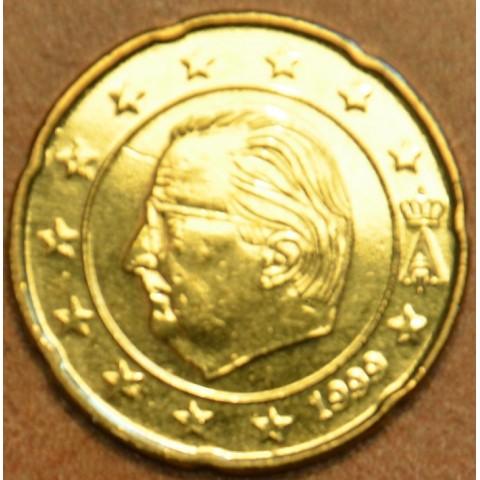 20 cent Belgium 1999 (UNC)