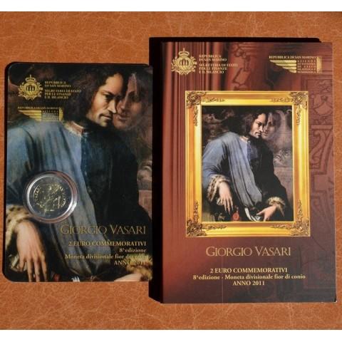 2 Euro San Marino 2011 - 500th Anniversary of the birth of Giorgio Vasari (BU)