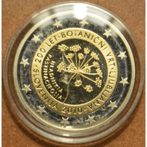2 Euro Slovenia 2010 - 200th anniversary of the Botanical Garden in Ljubljana (Proof)