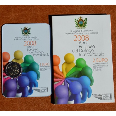 2 Euro San Marino 2008 - European Year of Intercultural Dialogue (BU)