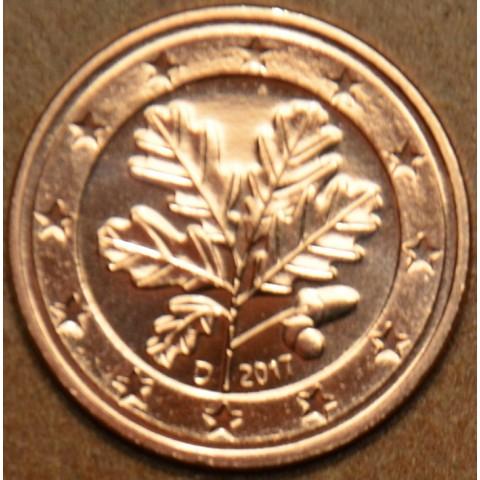"""1 cent Germany """"D"""" 2017 (UNC)"""