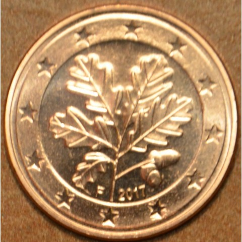 "1 cent Germany ""F"" 2017 (UNC)"