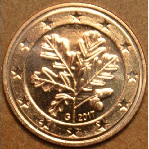 """1 cent Germany """"G"""" 2017 (UNC)"""