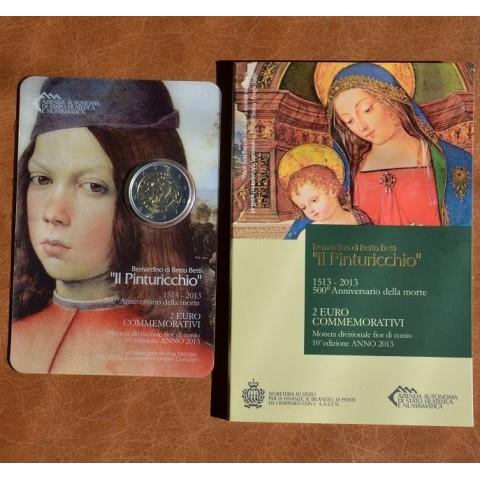 2 Euro San Marino 2013 - The 500th Anniversary of the Death of Malers Pinturicchio (BU)