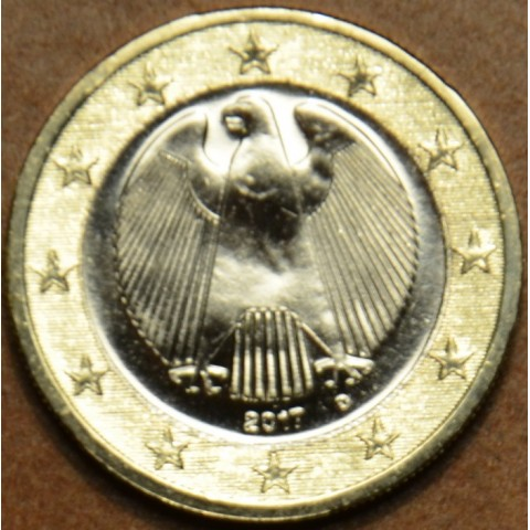 "1 Euro Germany ""D"" 2017 (UNC)"